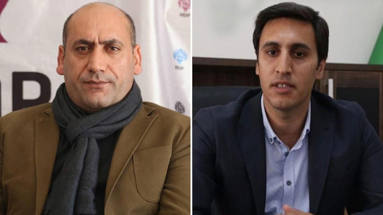 Kürt siyasetçiler Yıldırım ve Yüksek 'kırmızı listeye' alındı