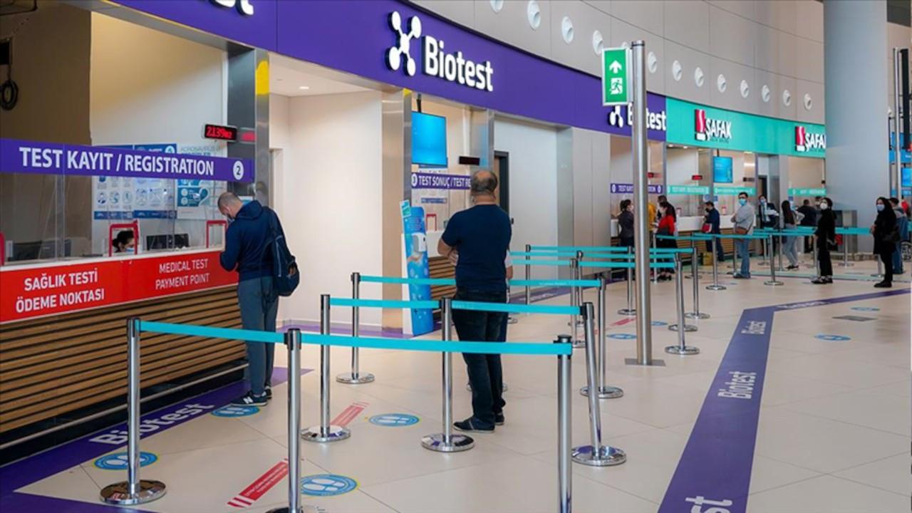 İstanbul Havalimanı'nda 1.5 saatte PCR testi