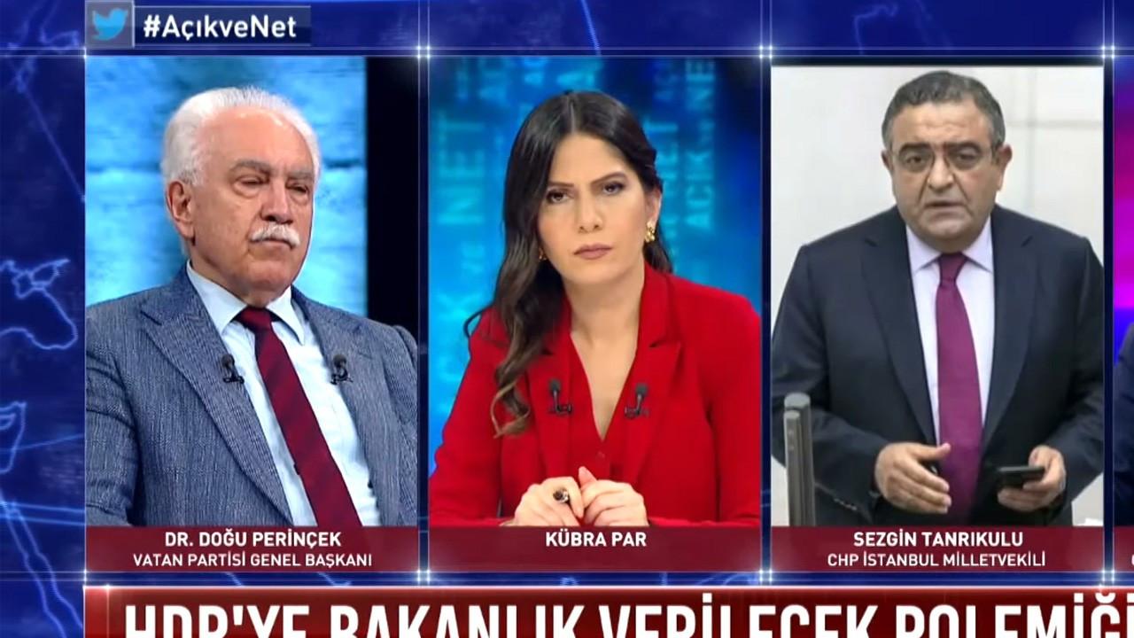Tanrıkulu: Öcalan'ın değil Perinçek'in avukatlığını yaptım