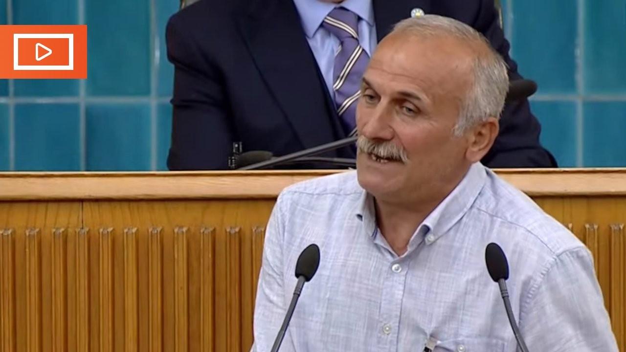 Rizeli çay üreticisi İYİ Parti kürsüsünde: A Haber muhabiri var mı?