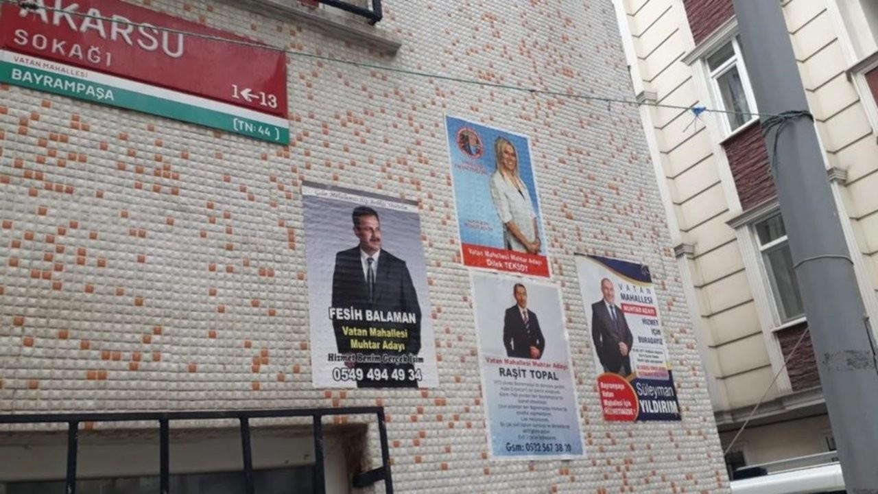 İstanbul'da pazar günü 14 mahallede seçim var