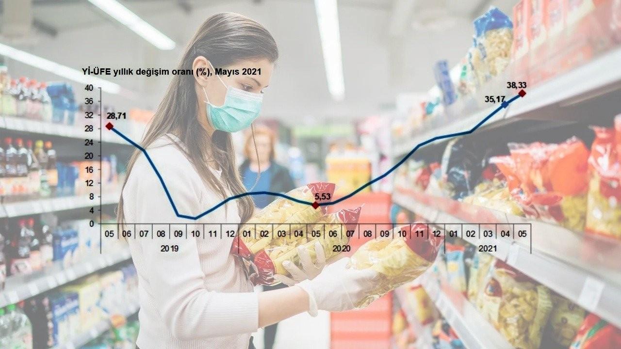 Aylık enflasyon TÜİK'e göre yüzde 0,89, ekonomistlere göre yüzde 3,94 arttı