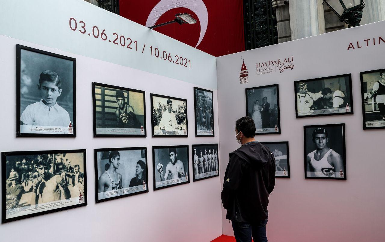 Eski milli boksör Garbis Zakaryan anısına sergi açıldı - Sayfa 1