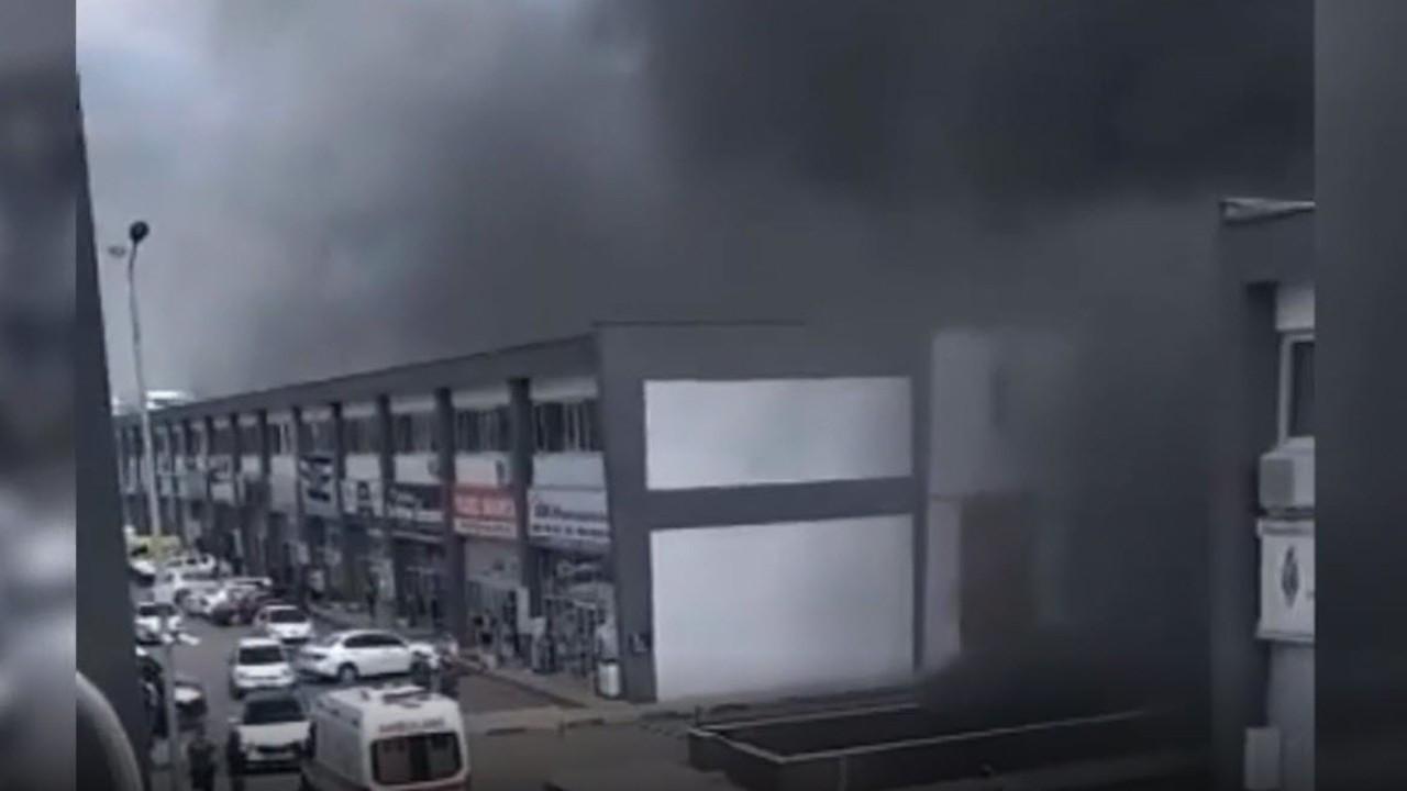 Ankara'da klor fabrikasında yangın: Diğer bloklara sıçradı