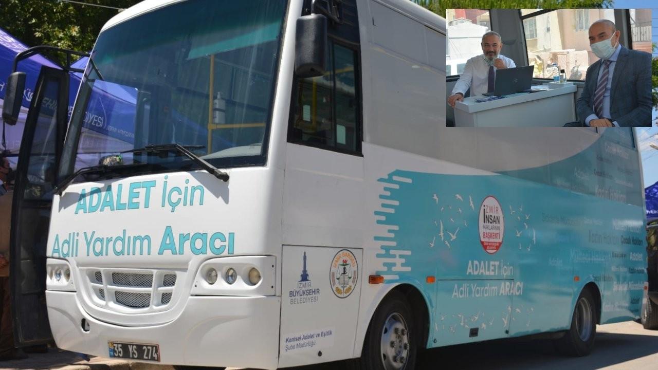 İzmir'de 'Adalet Aracı' hizmete girdi