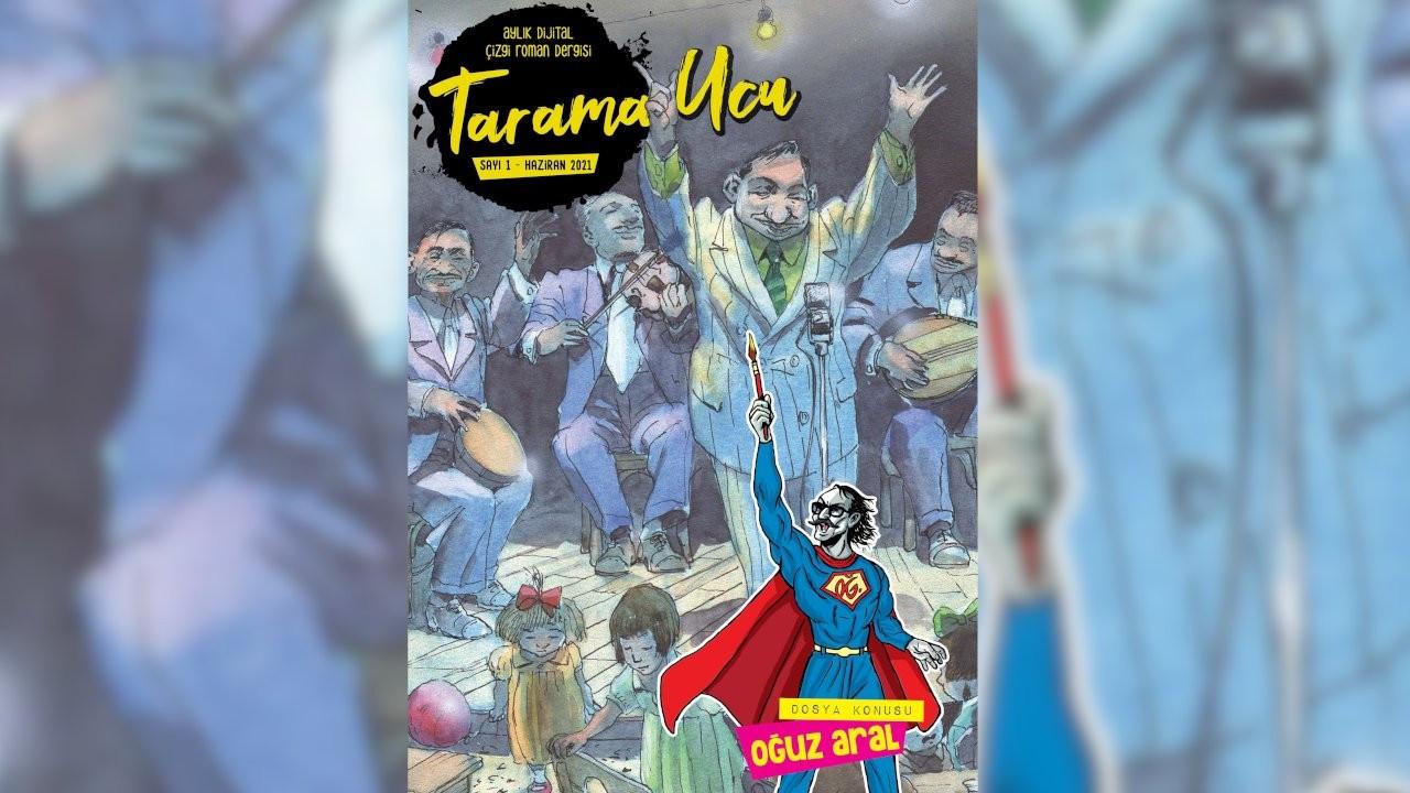 Çizgi roman dergisi 'Tarama Ucu' çıktı
