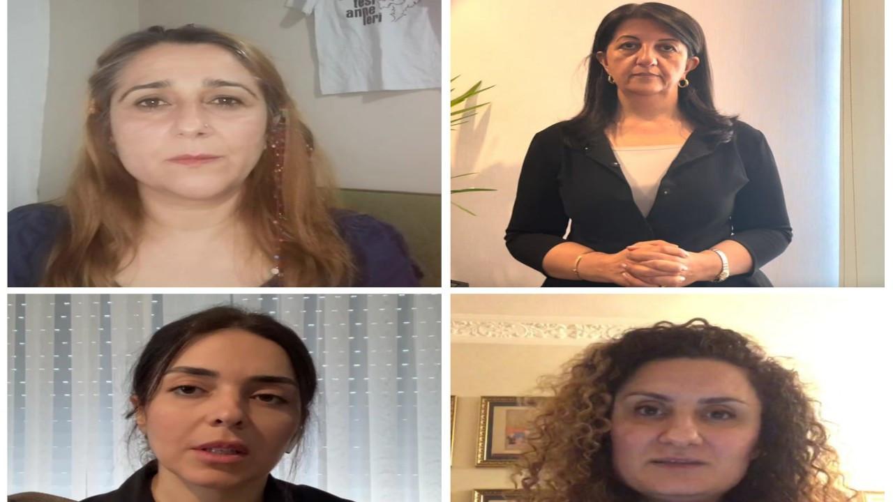 Cumartesi Anneleri Savaş Buldan, Adnan Yıldırım ve Hacı Karay için adalet istedi