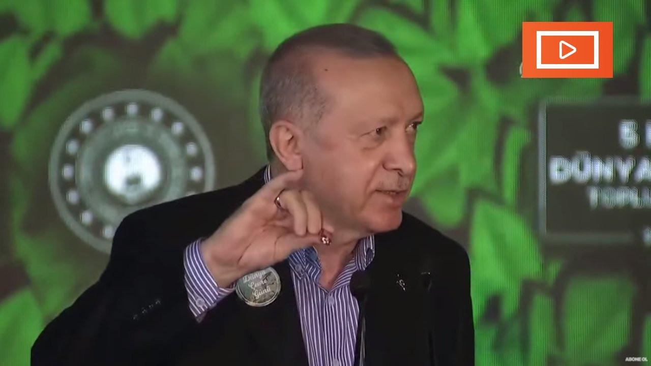 Erdoğan makas sordu, çakı çıkardı