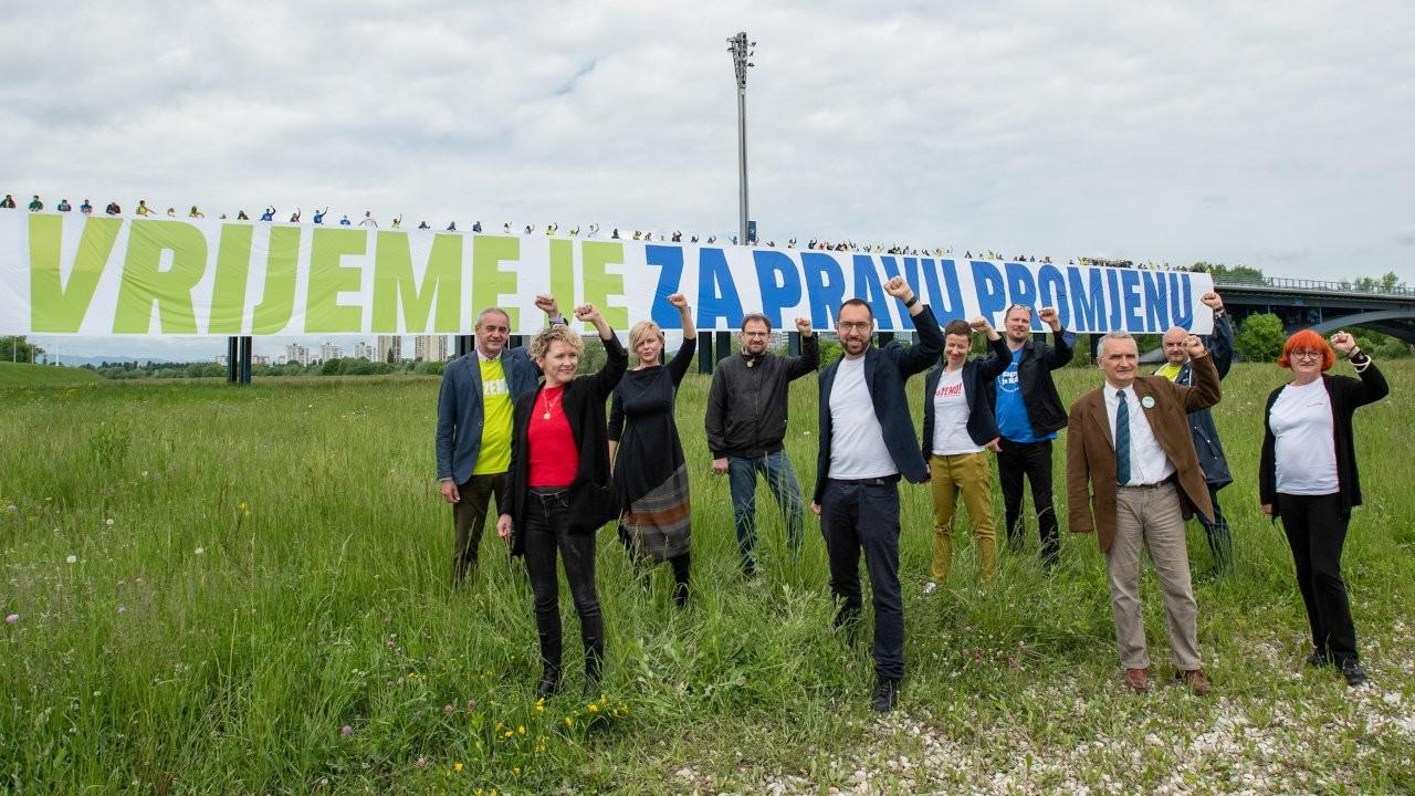 Hırvatistan yeşil solunun yükselişi Avrupa'ya umut veriyor