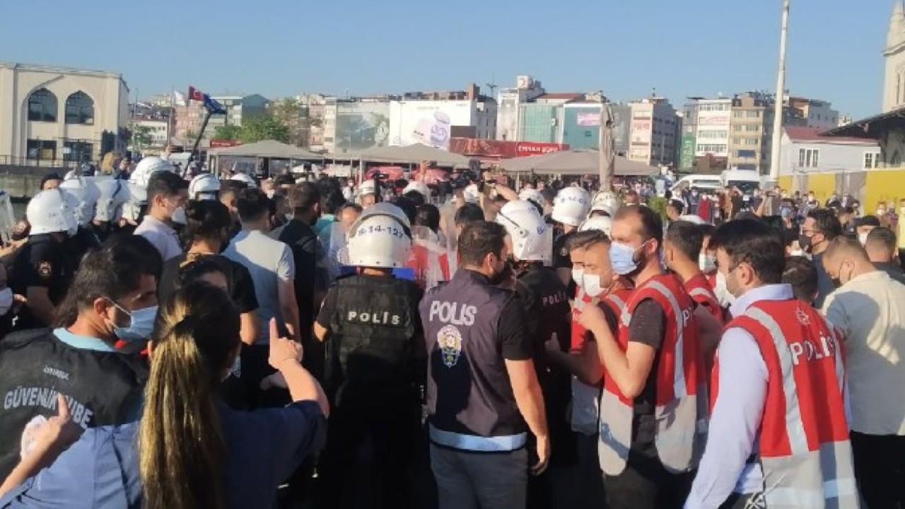 'Mafya iktidarına son' eylemine polis engeli: 35 gözaltı