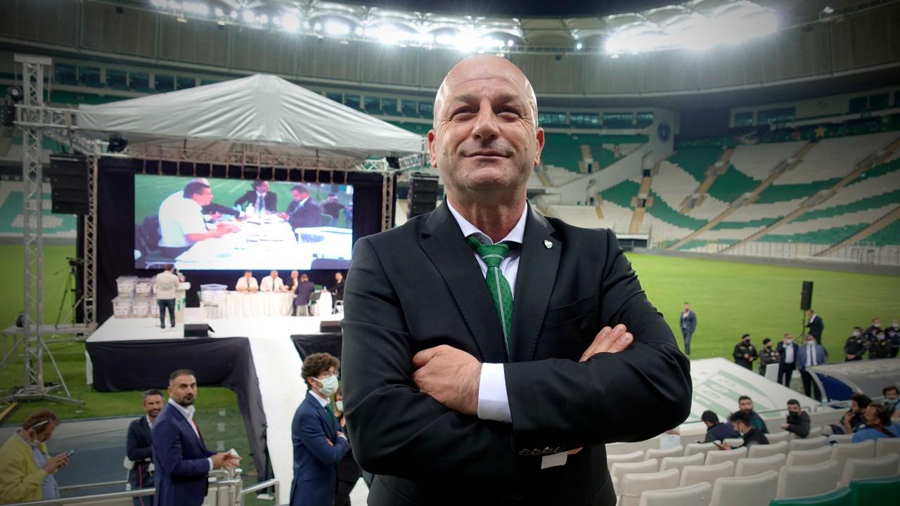 Bursaspor'un yeni başkanı Hayrettin Gülgüler