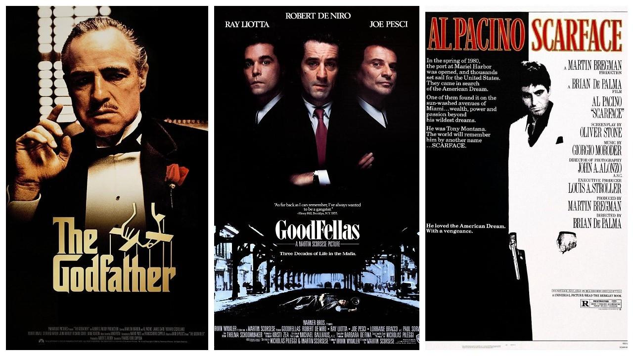 IMDb'de en yüksek puanlı mafya filmleri