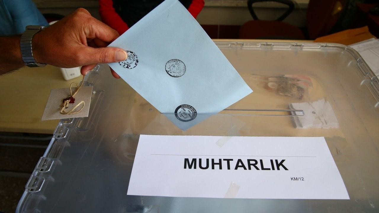 765 yerleşim yerinde seçim yapılıyor