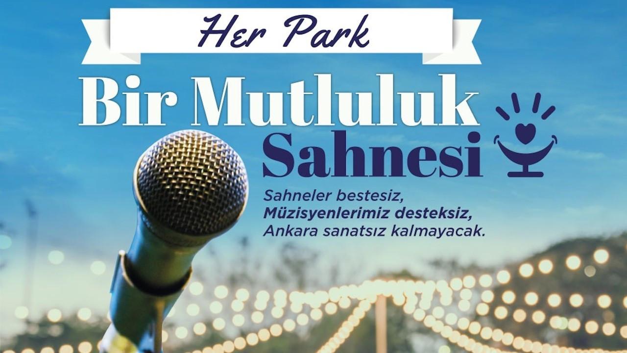 Ankaralı müzisyenlere Yavaş'tan destek: Mutluluk sahneleri kurulacak
