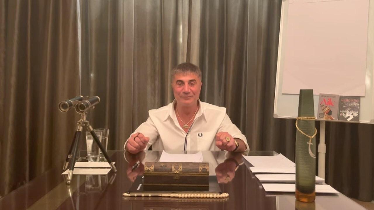 Sedat Peker bu kez CHP'lilere seslendi: Soylu'nun koruma müdürünün İş Bankası'nda ne işi var?