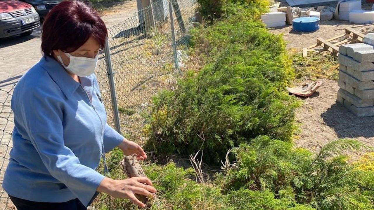 Karaburun'da belediye tesislerine saldırı