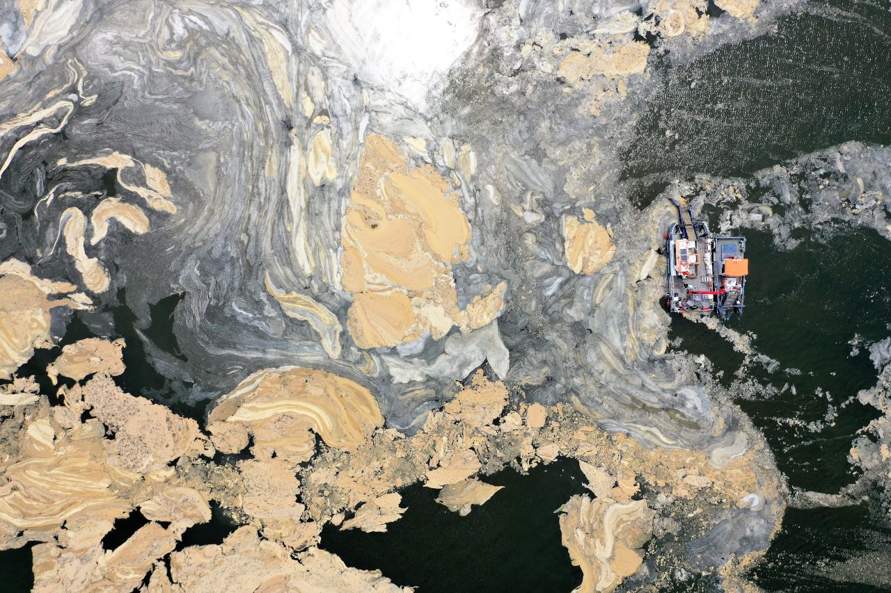 İzmit Körfezi'nde deniz süpürgesiyle musilaj temizliği; 2 ayda 200 ton - Sayfa 2