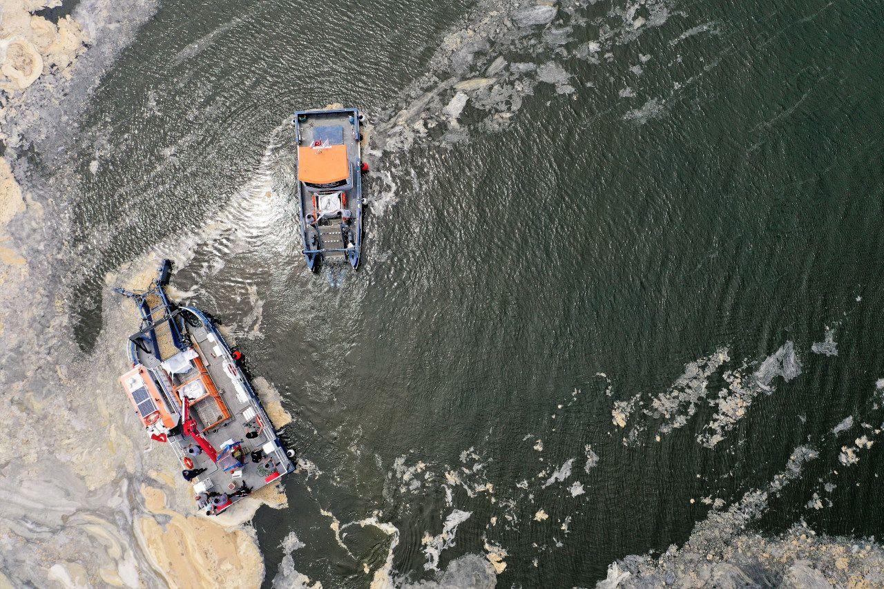 İzmit Körfezi'nde deniz süpürgesiyle musilaj temizliği; 2 ayda 200 ton - Sayfa 3