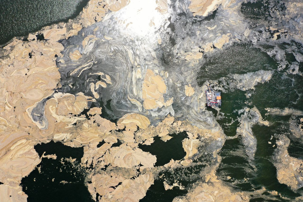 İzmit Körfezi'nde deniz süpürgesiyle musilaj temizliği; 2 ayda 200 ton - Sayfa 4