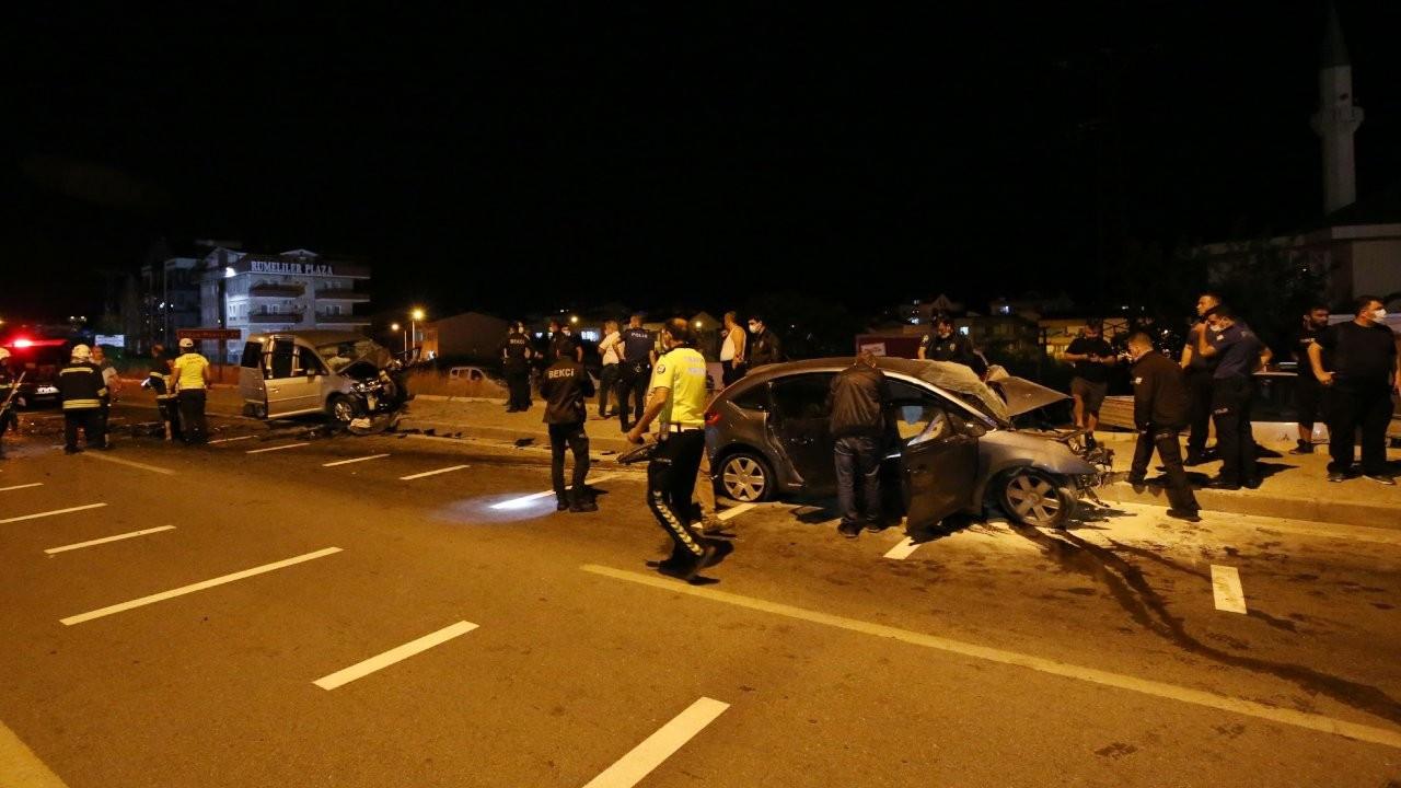 Çanakkale'de kaza: Bir polis ve bir astsubay vefat etti