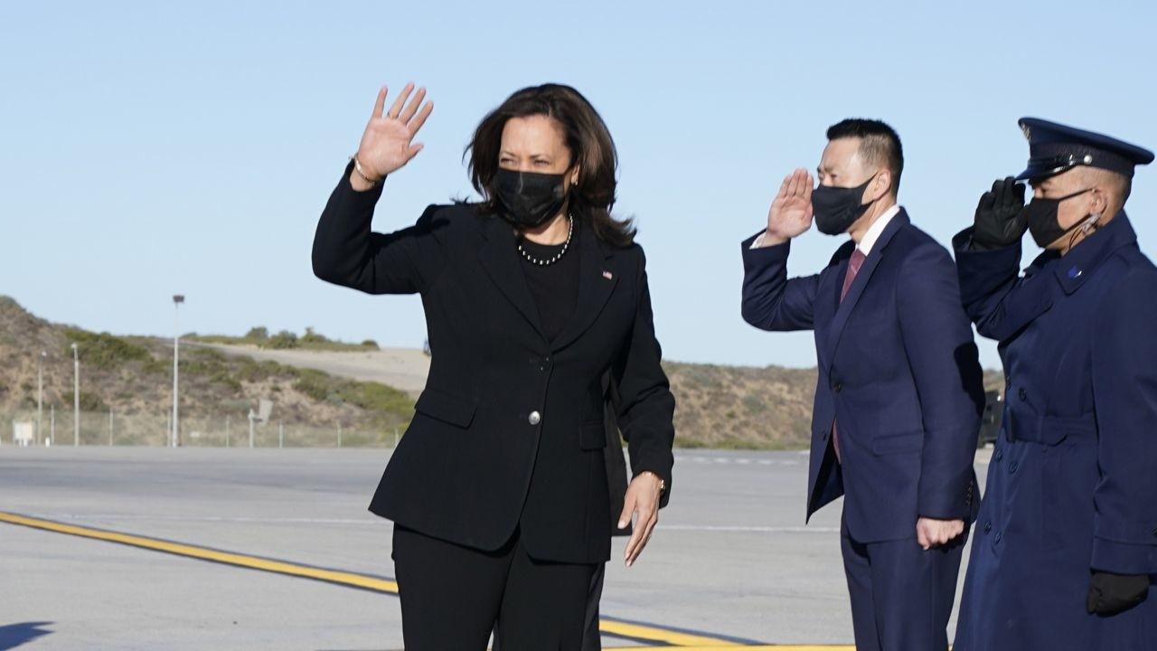 ABD Başkan Yardımcısı Harris'in uçağı zorunlu iniş yaptı