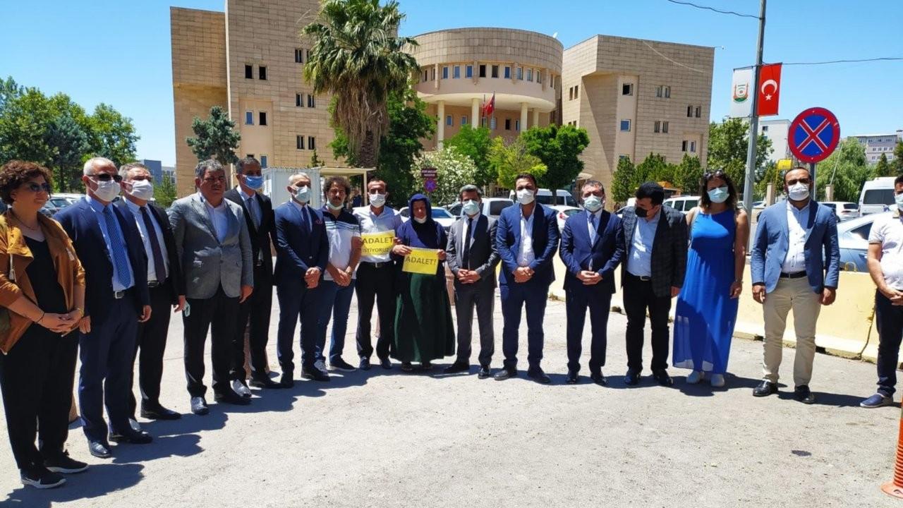 Baro başkanlarından Şenyaşar ailesine destek