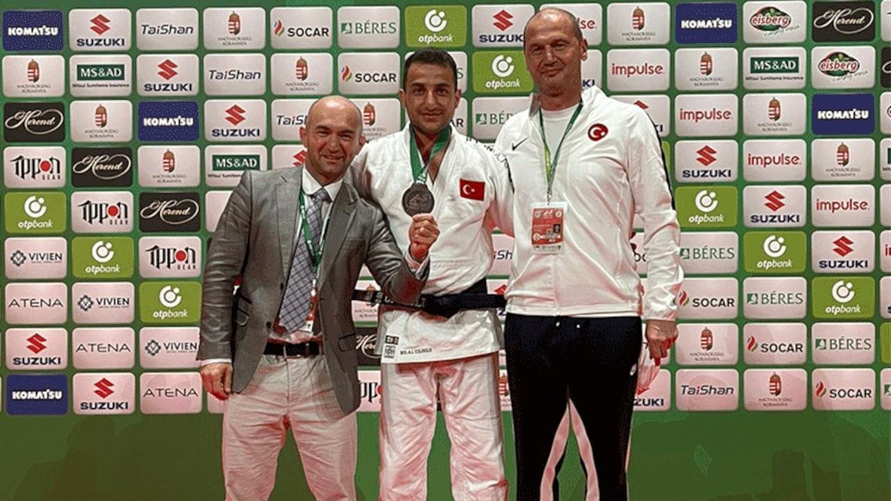 Judocu Bilal Çiloğlu dünya üçüncüsü oldu