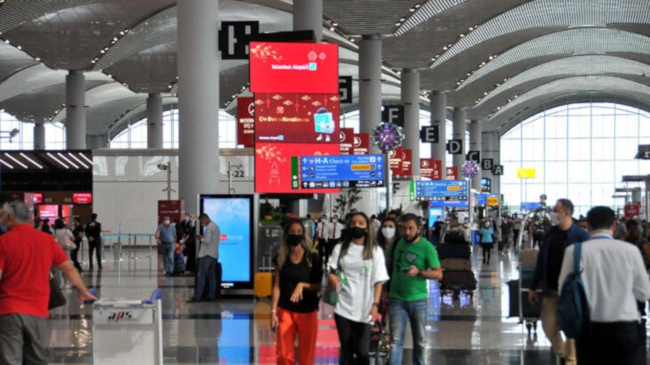 İstanbul Havalimanı'nda pandemi döneminin en yüksek uçuş sayısına ulaşıldı