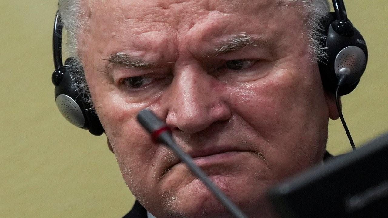'Bosna Kasabı' Mladiç'e verilen müebbet hapis cezası onandı