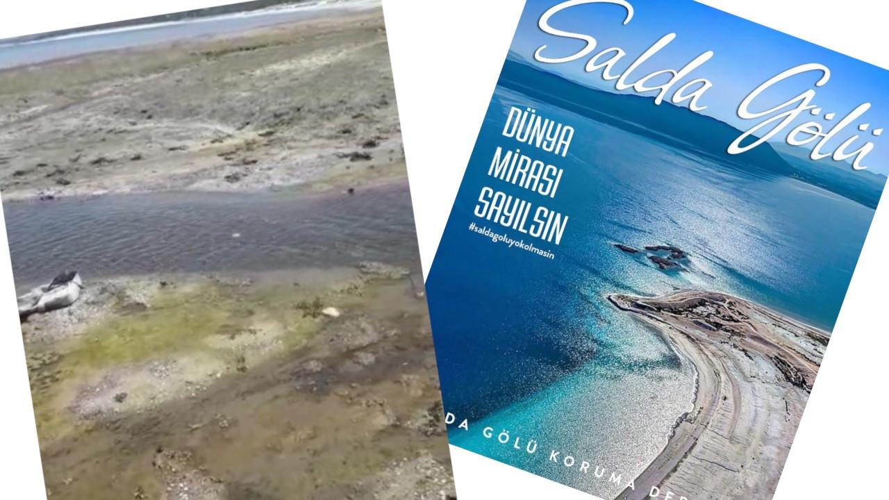 Salda Gölü Koruma Derneği: 'Salda köyünün kanalizasyonu göle akıyor'