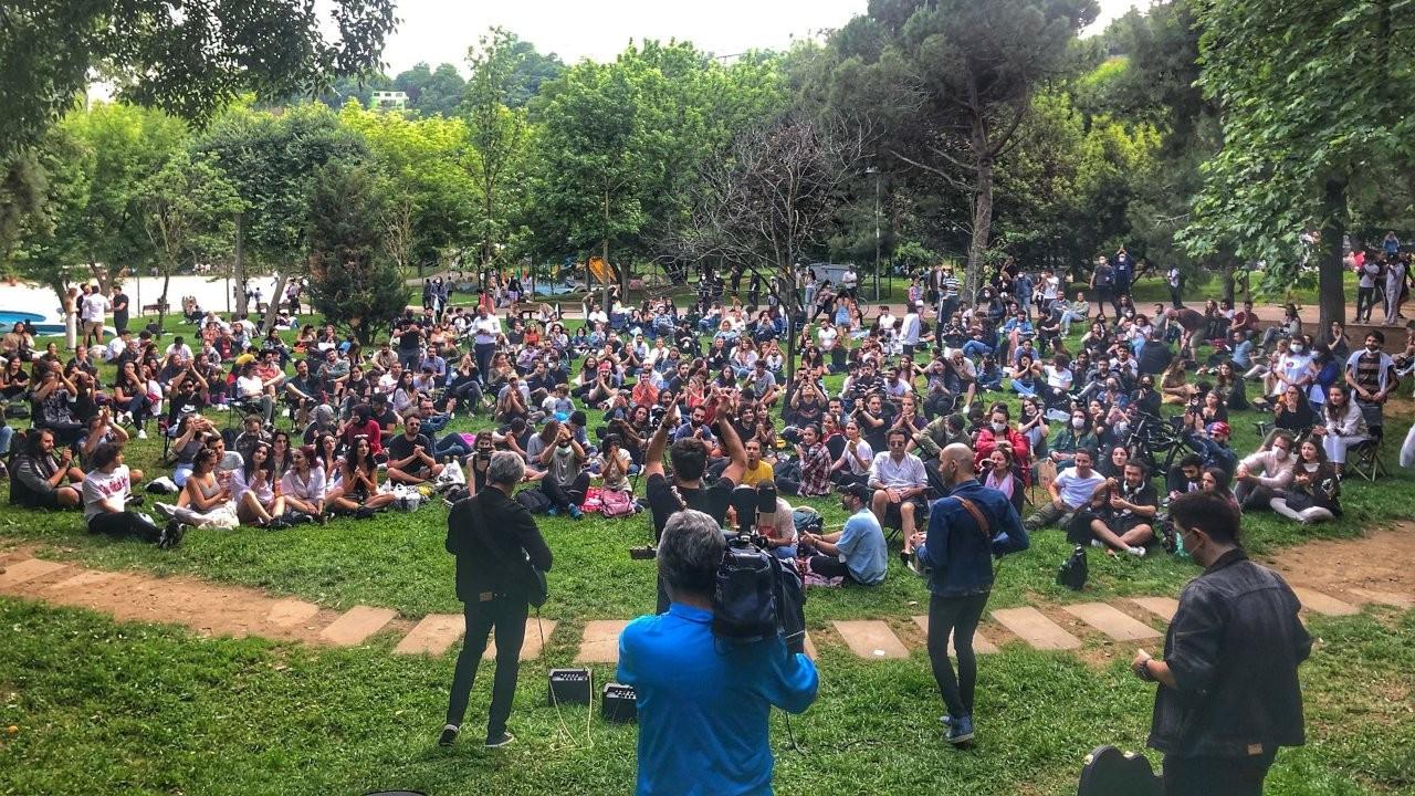 Redd'den Maçka Parkı'nda konserli protesto: Sahneleri istiyoruz
