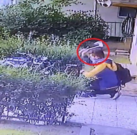 Baltalı motosiklet hırsızı kameraya yakalandı - Sayfa 1