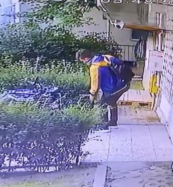Baltalı motosiklet hırsızı kameraya yakalandı - Sayfa 2