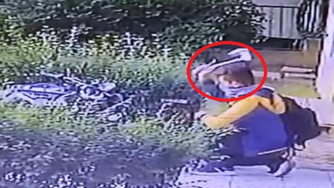 Baltalı motosiklet hırsızı kameraya yakalandı