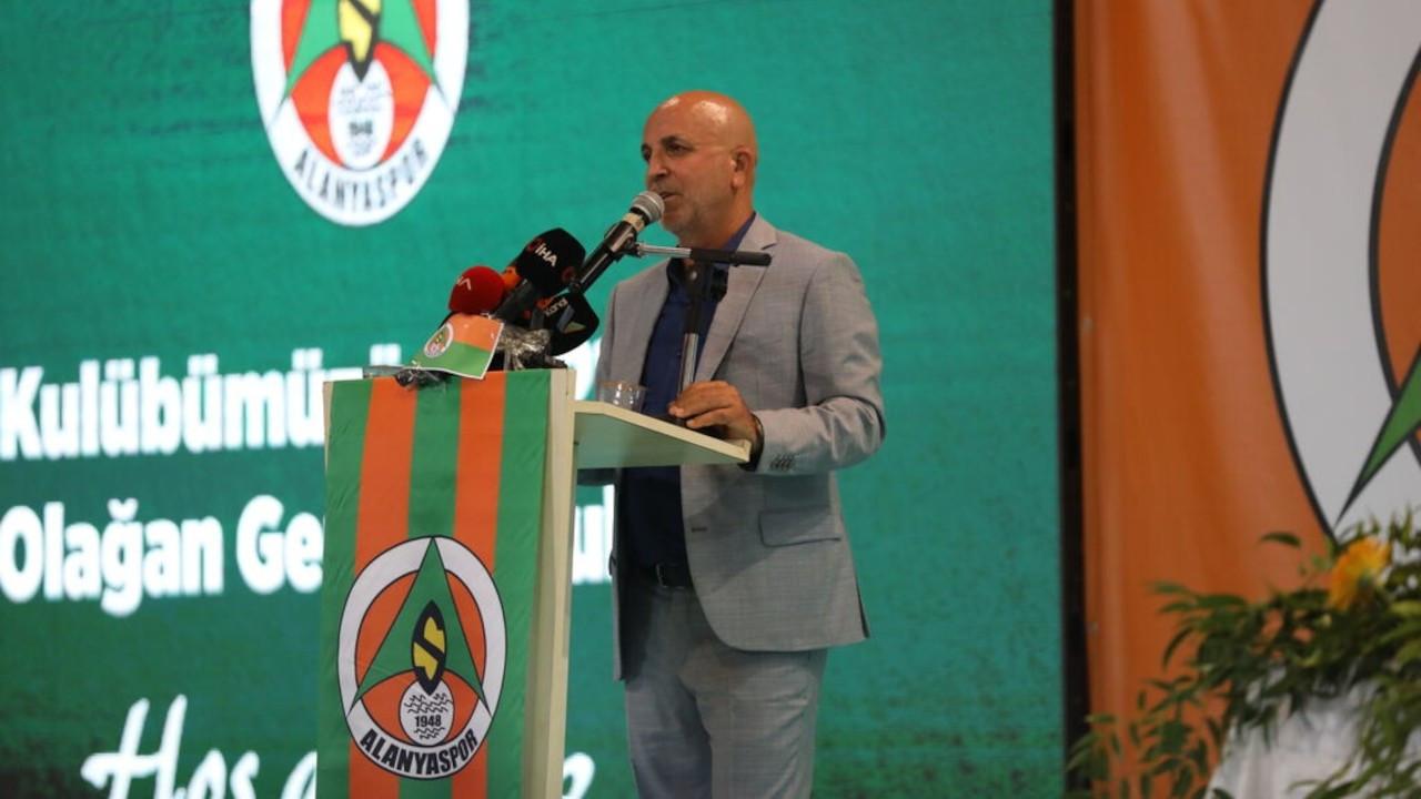 Hasan Çavuşoğlu, yeniden Alanyaspor başkanı seçildi