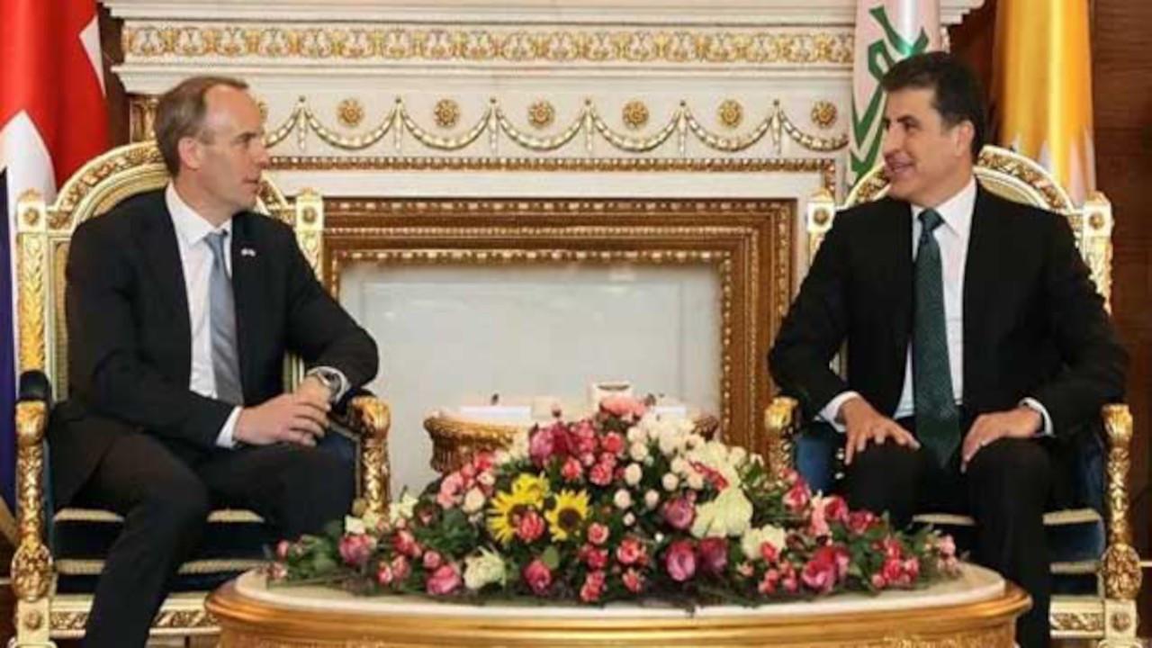 İngiltere Dışişleri Bakanı Raab: Kürt halkına desteğimiz sürecek