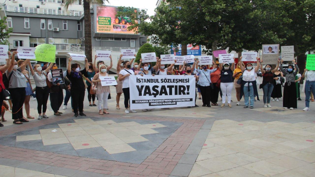 Denizlili kadınlar İstanbul Sözleşmesi'nden vazgeçmiyor