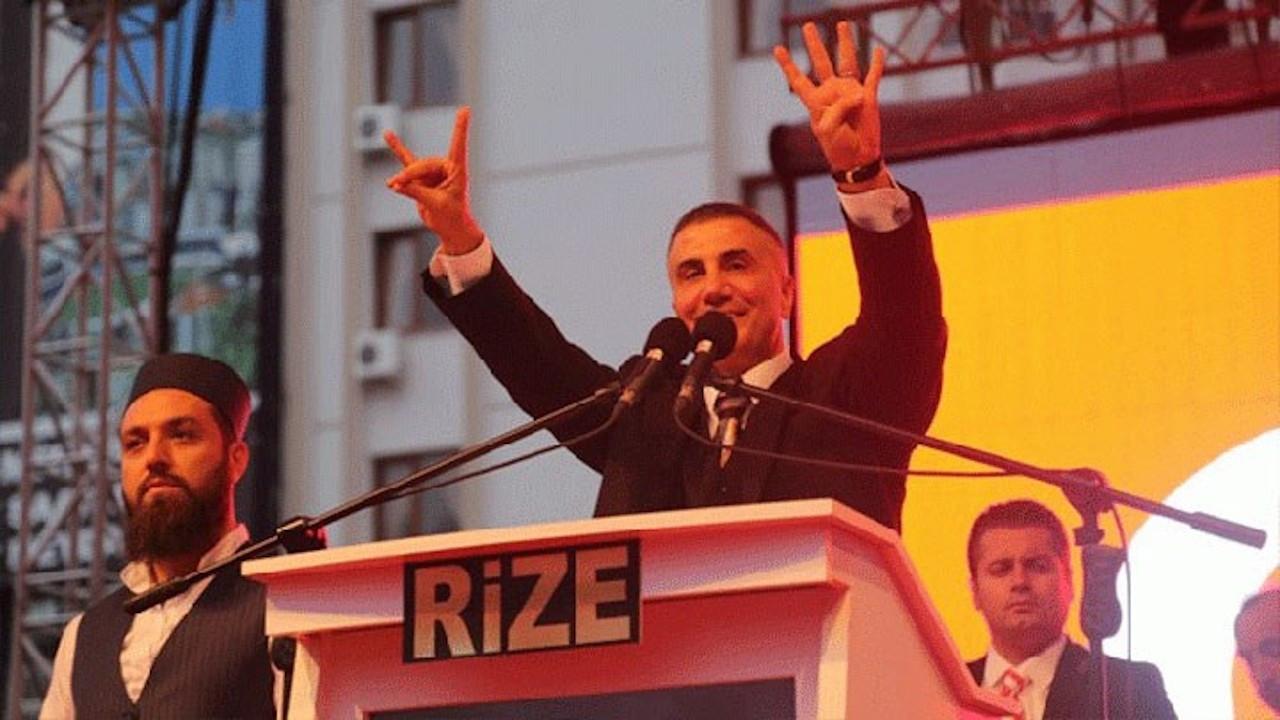 Sedat Peker'den 'miting' paylaşımı: AK Parti için yaptım