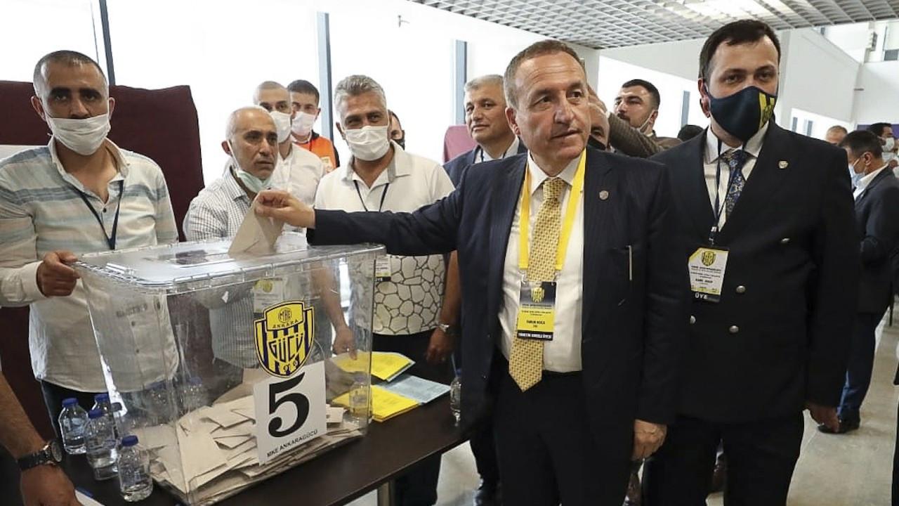 Ankaragücü'nün yeni başkanı Faruk Koca oldu