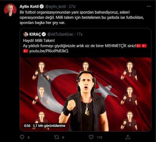 Kıraç'ın Milli Takım şarkısına 'militarist' tepkisi: Savaşa mı gidiyoruz? - Sayfa 3