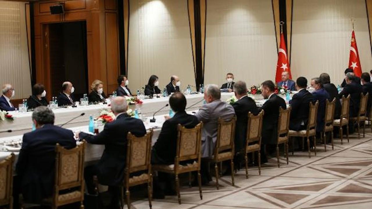 Erdoğan akademisyenlerle 'müsilaj' toplantısı yaptı
