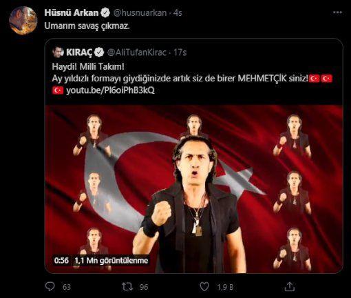 Kıraç'ın Milli Takım şarkısına 'militarist' tepkisi: Savaşa mı gidiyoruz? - Sayfa 2
