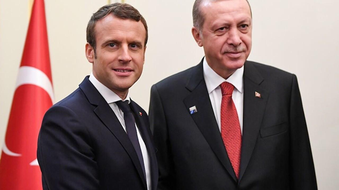 Macron: Derin fikir ayrılıklarına rağmen Erdoğan ile görüşebiliriz