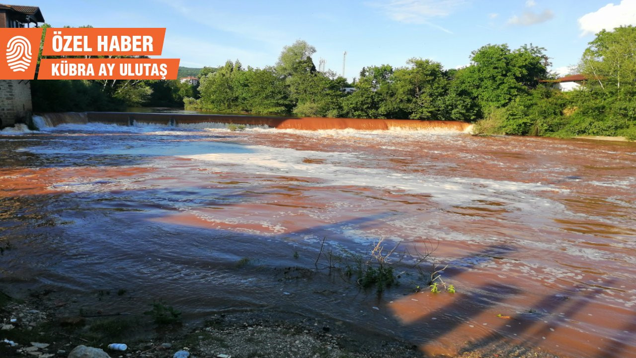 Bartın Irmağı kahverengi akıyor