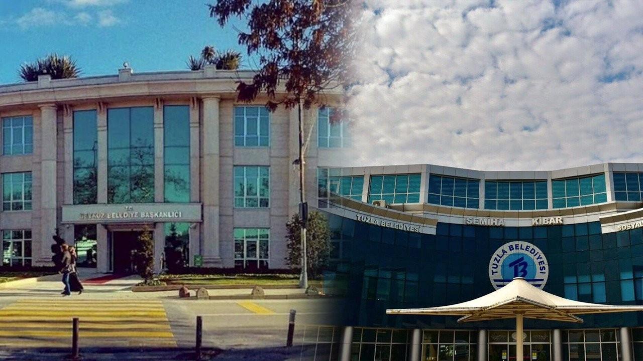 Beykoz ve Tuzla'daki ihaleler AK Partililerin şirketlerine verildi