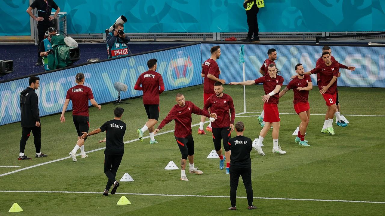 Türkiye-İtalya EURO 2020 açılış maçında ilk 11'ler belli oldu