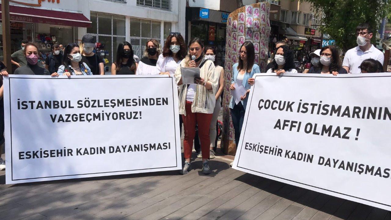 Eskişehirli kadınlardan çağrı: İstanbul Sözleşmesı̇ için buluşalım