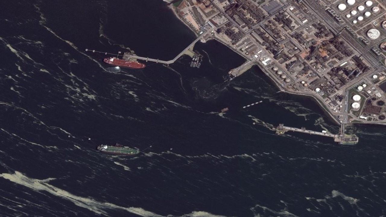 Müsilaj uzaydan fotoğraflandı: 10 günde 3 kattan fazla artış