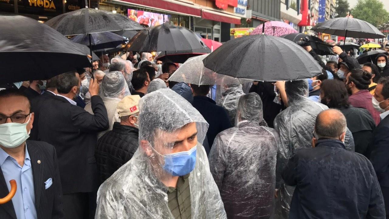 SAADET'in Güvenpark'taki 'Geçim İttifakı' açıklamasına polis engeli