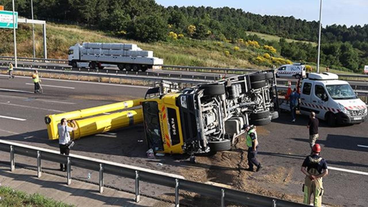 Kaza yapan vincin sürücüsü: Güneş vurunca mayıştım...